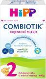 HIPP 2 BIO Combiotik (600 g) - dojčenské mlieko