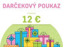 FEEDO Darčekový poukaz v hodnote 12 €