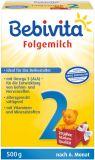 BEBIVITA 2 (500 g) - pokračovací mléčná kojenecká výživa