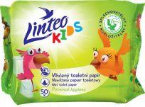 LINTEO Kids vlhčený toaletní papír 50 ks, sáček