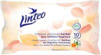 LINTEO Satin Vlhčené ubrousky pro intimní hygienu 10 ks, sáček