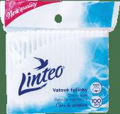 LINTEO Vatové tyčinky 100 ks, sáček