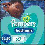 PAMPERS Ochrona materaca dla dzieci w wieku 12 m+, 7 sztuk