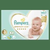 PAMPERS Premium Care 3 MIDI 120ks (6-10 kg) MEGA Box - jednorázové pleny