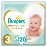 PAMPERS Premium Care 3 MIDI 120 szt. (6-10 kg) MEGA Box - pieluszki jednorazowe