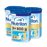 3x NUTRILON 3 ProNutra s príchuťou vanilky (800g) - dojčenské mlieko