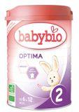 BABYBIO Optima 2 Mleko następne (900 g) od 6. miesiąca