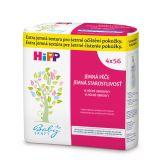 4x HIPP Babysanft Detské čistiace vlhčené obrúsky (56 ks)