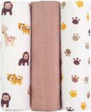 T-TOMI Tetra pleny, opice, sada 3 ks - Top kvalita