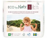 NATY NATURE Babycare 5 Junior 20 szt. (12-18 kg) – ekologiczne pieluchomajtki