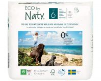 NATY NATURE Babycare 6 Junior 18 szt. (16+ kg) – ekologiczne pieluchomajtki