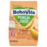 BOBOVITA Porcja Zbóż Kaszka mleczna 3 zboża gruszka 6m+ (210 g)