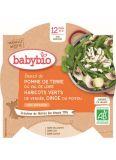 BABYBIO Menu brambory a fazolky s krůtími plátky (230 g)