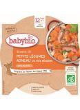 BABYBIO Menu dušená zelenina s jehněčím masem 230 g