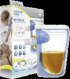 CHERUB Baby Cestovní obaly 150 ml na přesnídávky 20 ks