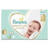 PAMPERS Premium Care 5 Junior 88ks (11-16 kg) MEGA BOX - jednorazové plienky
