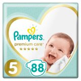 PAMPERS Premium Care 5 Junior 88 ks (11-16 kg) MEGA BOX - jednorazové plienky