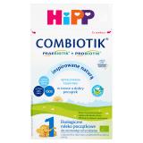 HiPP 1 Combiotik Ekologiczne dla niemowląt od urodzenia (600 g) - mleko początkowe