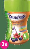 3x SUNÁREK Dobré ráno rozpustný nápoj šípky a čučoriedky (200 g)