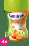 3x SUNÁREK Pomarančový rozpustný nápoj (200 g)