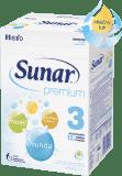 SUNAR Premium 3 (600 g) - kojenecké mléko