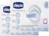 CHICCO Tampóny antibakteriálne do podprsenky 120 ks