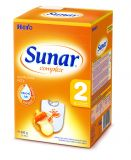 3x SUNAR Complex 2 (600 g) - dojčenské mlieko