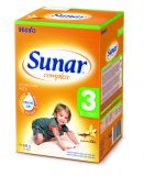 3x SUNAR Complex 3 VANILKA (600 g) - dojčenské mlieko