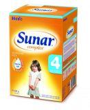 3x SUNAR Complex 4 (600 g) - dojčenské mlieko