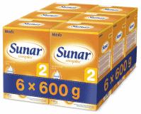 6x SUNAR Complex 2 (600 g) – kojenecké mléko