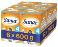 6x SUNAR Complex 4 (600 g) - dojčenské mlieko