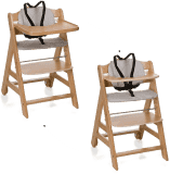HAUCK Jídelní židlička Beta+B natural 2017