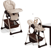 HAUCK Jídelní židlička Sit N Relax - Zoo 2018
