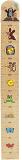 WIKY Metr dětský dřevěný na zeď - přírodní