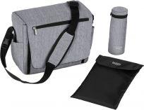 BRITAX Prebaľovacia taška s podložkou - Grey Melange