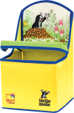 BINO Krecik 2w1 pudełko na zabawki / krzesełko