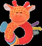 FIESTA CRAFTS Chrastítko s kousátkem - Žirafa
