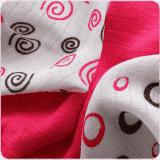KIKKO Bambusové obrúsky Spirals&Bubbles 30x30 (9 ks) – magenta