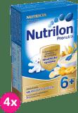 4x NUTRILON ProNutra mliečna krupicová kaša s ovocím 225g