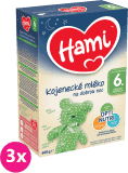 3x HAMI 6+ Na dobrú noc (600 g) - dojčenské mlieko