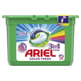 ARIEL Touch of Lenor All in 1 (14 ks) - gelové kapsle
