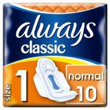 ALWAYS Classic Normal 10ks – vložky