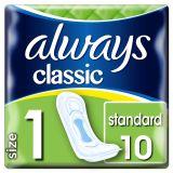 ALWAYS Classic Standard 10 ks – vložky