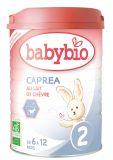 BABYBIO Kozie mlieko 2 Caprea 900 g