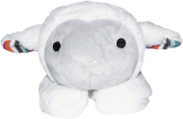 ZAZU Plyšové zvířátko s tlukotem srdce - Ovečka Liz
