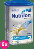 6x NUTRILON 2 ProFutura (800g) - dojčenské mlieko