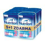 6 x NUTRILON 2 Good Night pokračovací kojenecké mléko 800 g, 6+