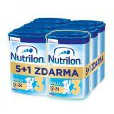 6 x NUTRILON 3 Vanilla batolecí mléko 800 g, 12+