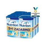 5+1 NUTRILON 3 ProNutra s príchuťou vanilky (800g) - dojčenské mlieko
