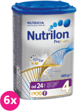 6x NUTRILON 4 ProFutura (800g) - dojčenské mlieko